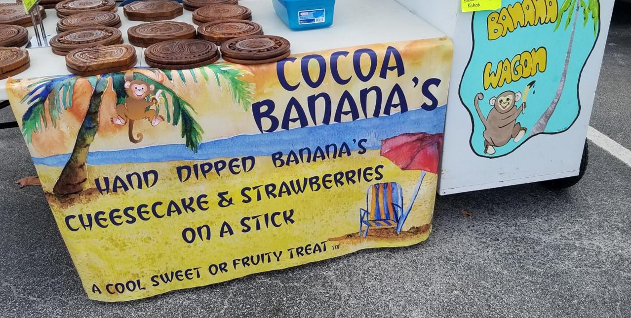 Cocoa Bananas